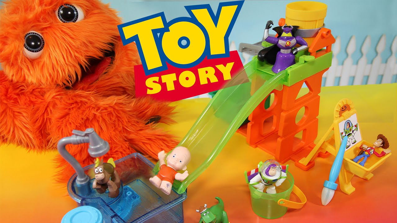 Toy Story Color Changers & Slide n Surprise Playground ...