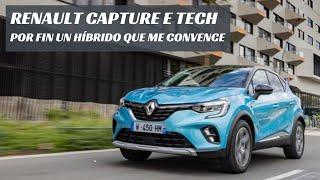 ¡Por fin un coche híbrido que me convence! Renault Captur E-TECH