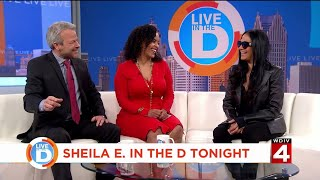 Live in the D: Sheila E. in the D tonight