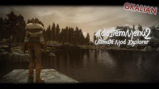 Skyrim: AddItemMenu - Меню добавления предмета
