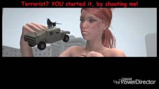 Giantess attack in the city® part5