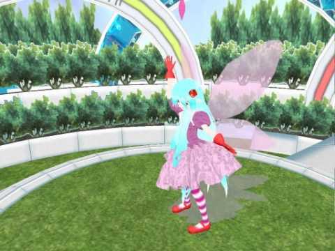 MMD Hita Mitsuki Lat Fairy Ver. - Double Lariat VCV