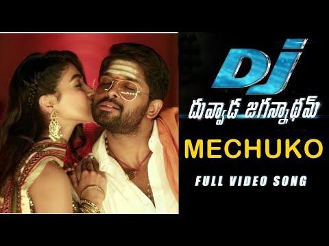 DJ Video Songs - Mechuko Full Video Song | Allu Arjun, Devi Sri Prasad