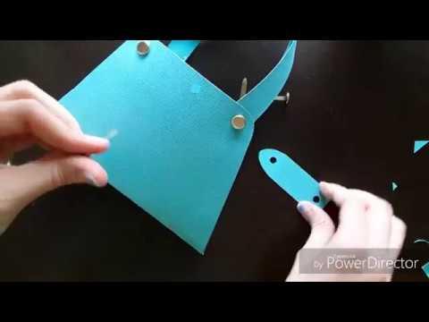 Allison's Crafts: DIY Simple Decorative Paper Purse