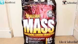 Review of Mutant Mass - Serious Weight Gainer!