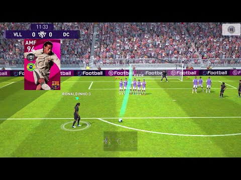 eFootball PES 2021 Mobile ⚽ Android Gameplay #8 Barcelona Kit #DroidCheatGaming