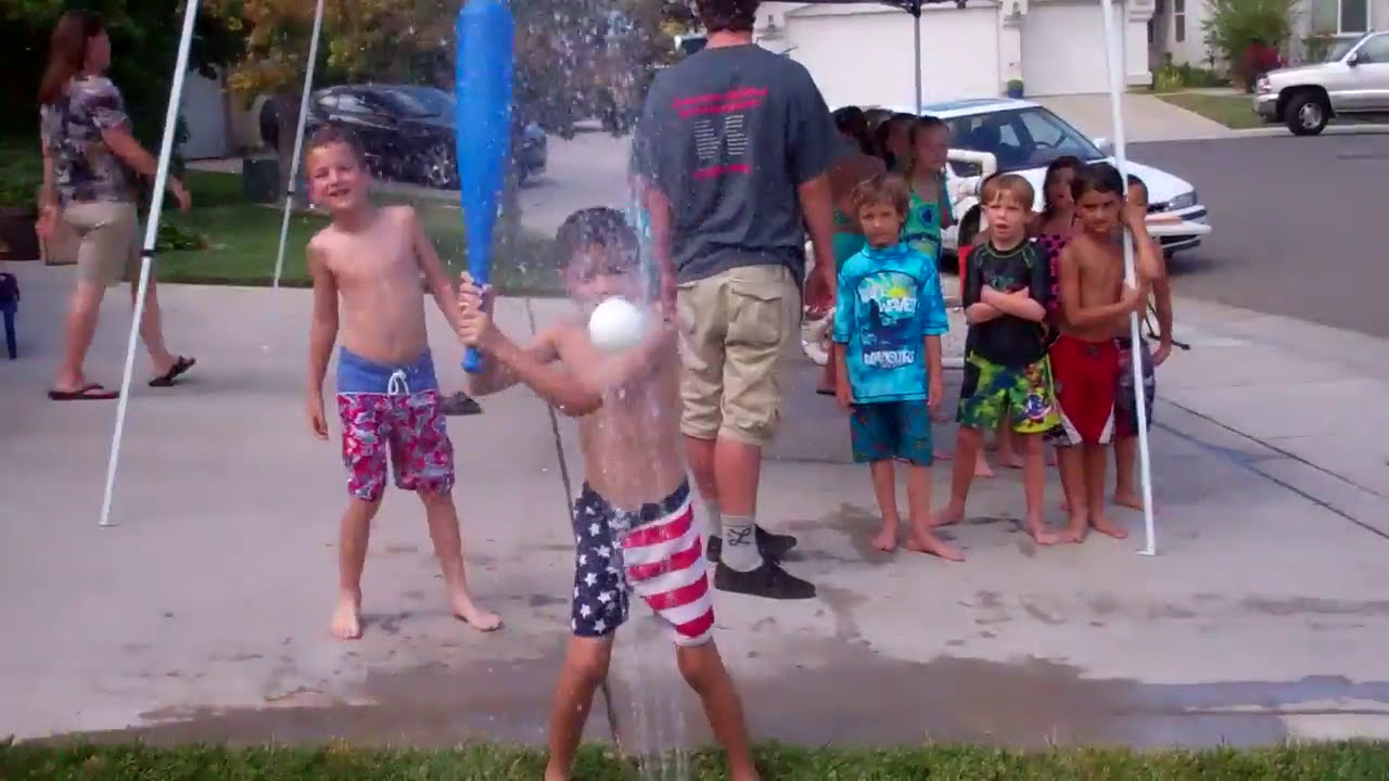 Wipeout And Fear Factor Birthday Party For 8 Year Old