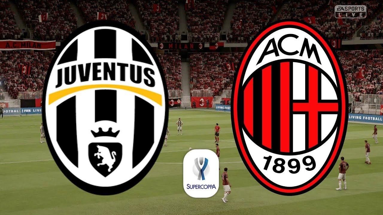 Supercoppa Italiana 2019 Final - Juventus Vs AC Milan - 16 ...