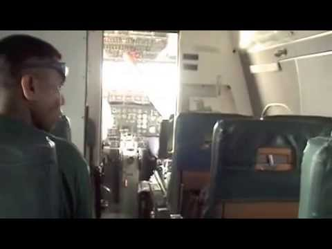 Flight from Butaritari to Bonriki International Airport in Tarawa / Kiribati - 01/03/13