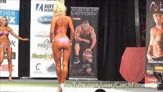 IFBB Athlete Bikini Fitness -  Slow Motion!