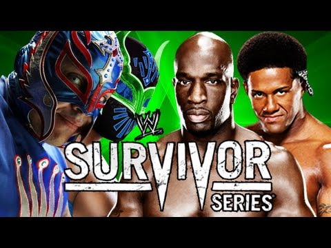 WWE Survivor Series 2012 - Rey Mysterio & Sin Cara Vs The Prime Time Players Full PPV Simulation