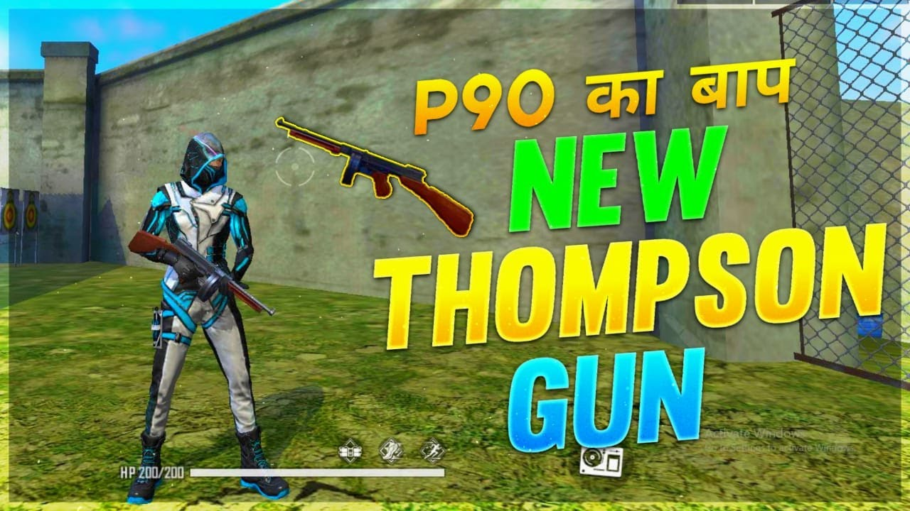 Only THOMPSON  Gun Challenge in Clash Squad || Garena Free Fire – Desi Army