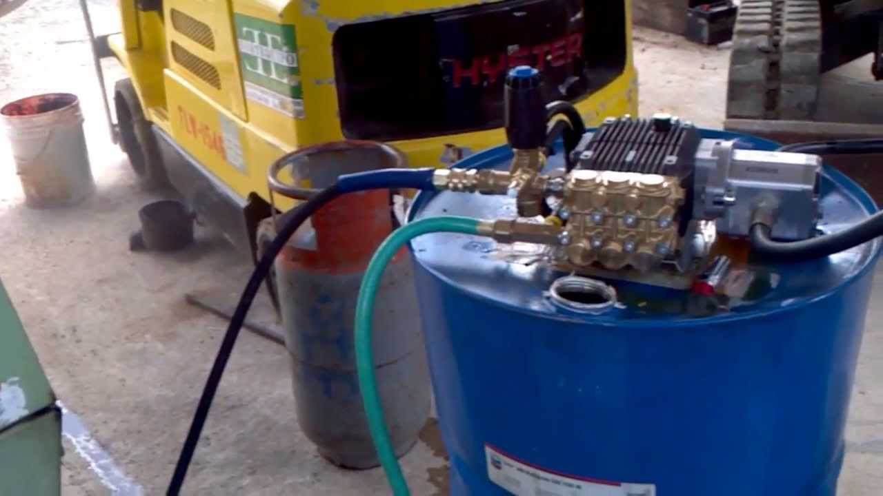 Hydraulic drive pressure washer youtube for Pressure washer pump electric motor