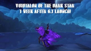 Voidtalon of the Dark Star 1 week after 6.1 launch (14 hours farmed)! Info included!