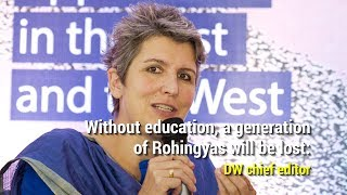 Without education, a generation of Rohingyas will be lost: DW chief editor
