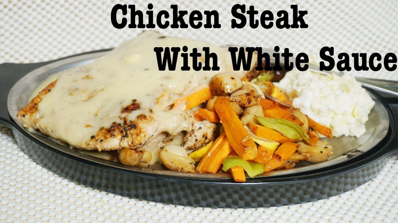 Chicken Steak With White Sauce Recipe By Cook With Fariha Youtube,Mornay Sauce Ingredients