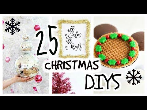 25-DIY-Christmas-Decor-Ideas-Treats-Crafts-Decorations-Recipes-Food