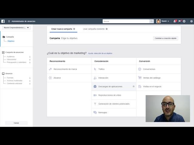 Lección 7: Crear anuncios en Facebook