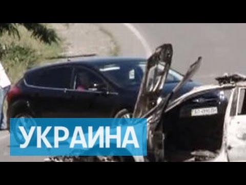 Экстремисты Правого сектора выложили видео со своей версией событий в Мукачево