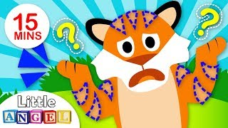 Fun Jungle Animals Songs Compilation | Have you Seen My Stripes? | Jungle Animals by Little Angel