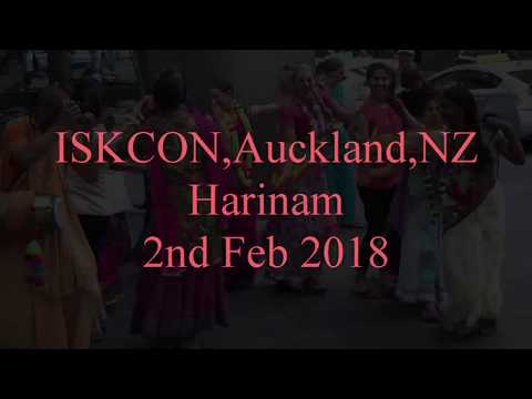 ISKCON Auckland Harinam