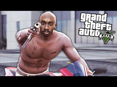 GTA 5 Mods - 2PAC