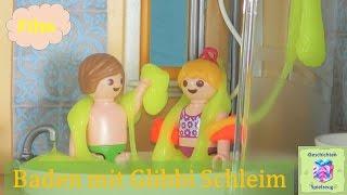 playmobil film deutsch baden mit glibbi schleim playmobil geschichten mit familie miller