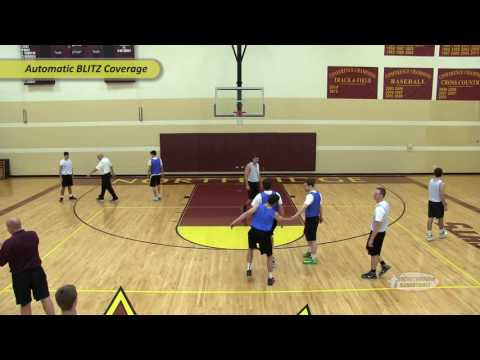 Automatic Trap Out Of 1-3-1 Zone Defense