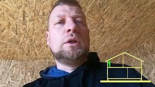 видео Покрытие для крыши дома из СИП панелей