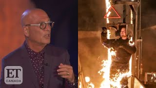 'AGT': Howie Mandel Calls For Help As Jonathan Goodwin Catches Fire During Daredevil Act