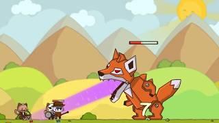 Отряд боевых котов против боевых лис! 2 (босс)