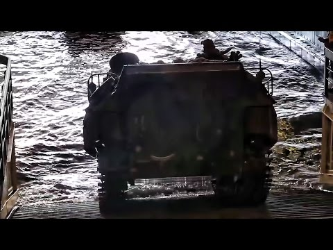 Amphibious Operation • Navy & Marines Team Up