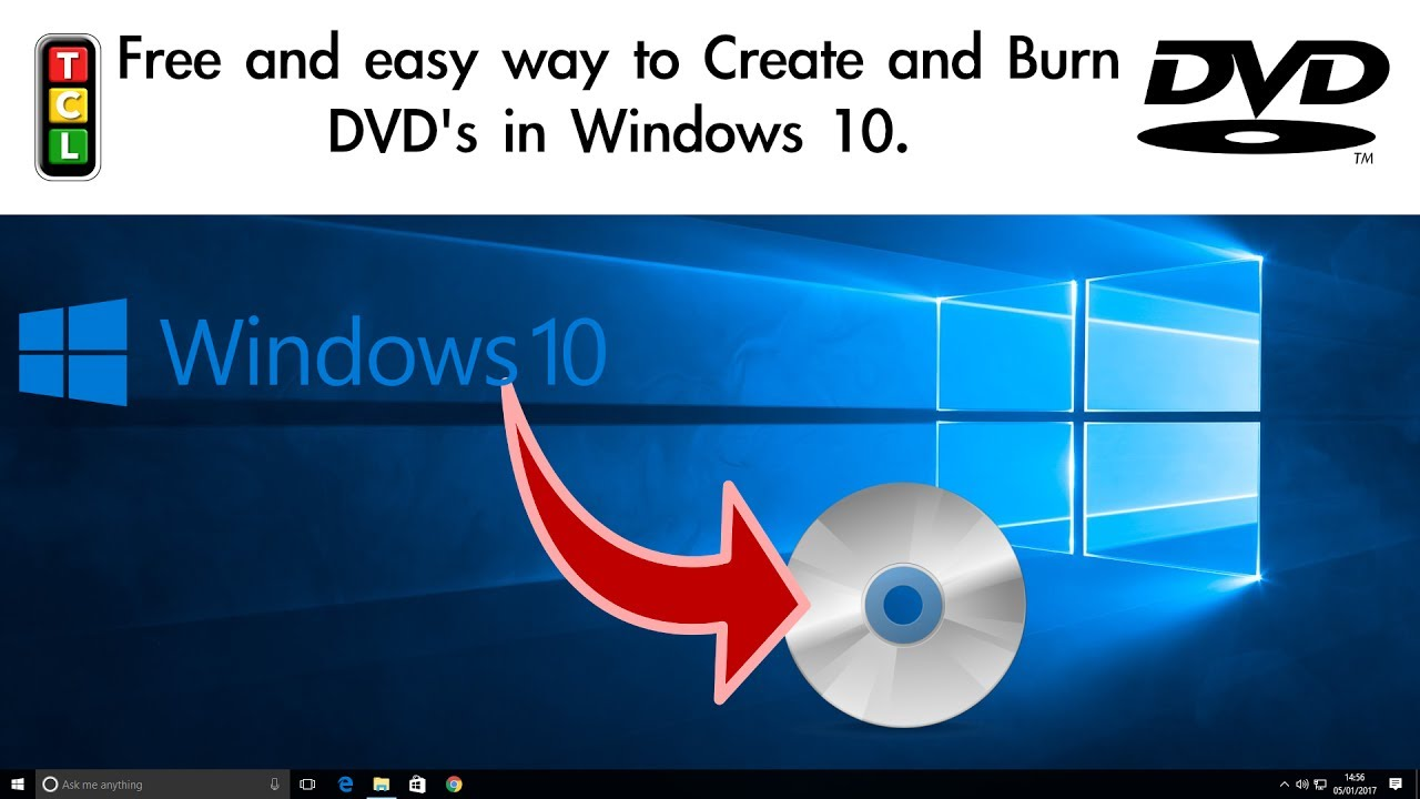 free dvd video burner windows 10