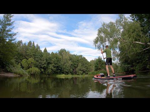 Сплав на SUPboard по реке Илеть в заповеднике