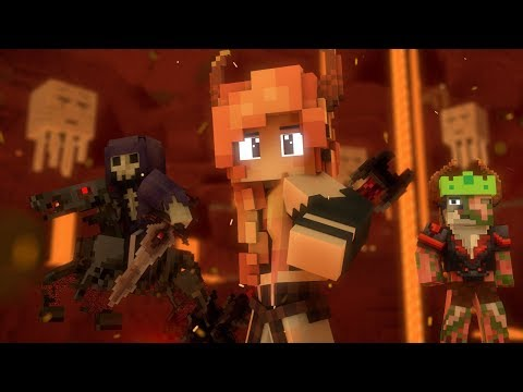 """Begin Again"" - A Minecraft Original Music Video ♪"