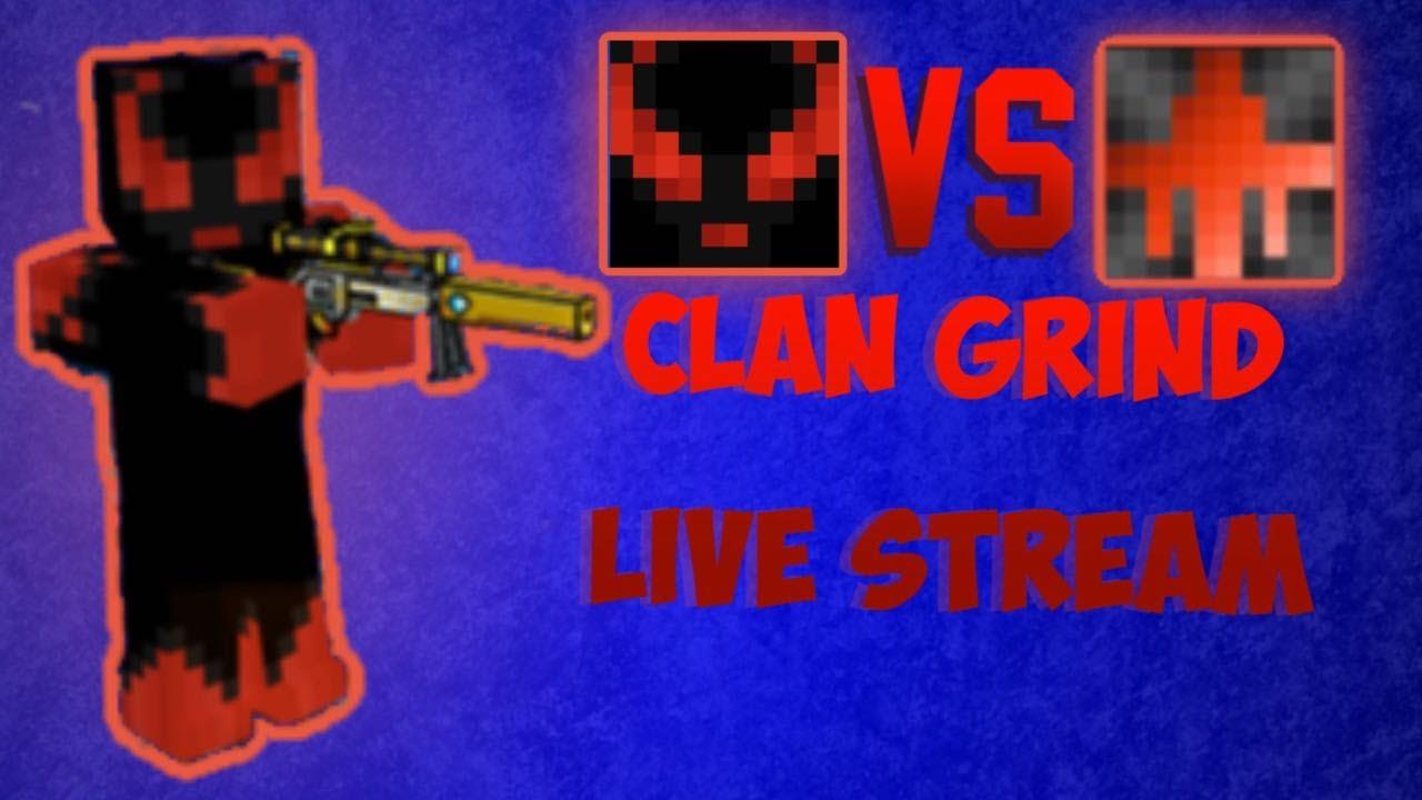 Pixel Gun 3D Clan Grind!! Part 2!! (2 Hour Stream Road To 300 Subs)