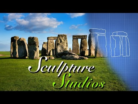 Creating Stonehenge by Sculpture Studios
