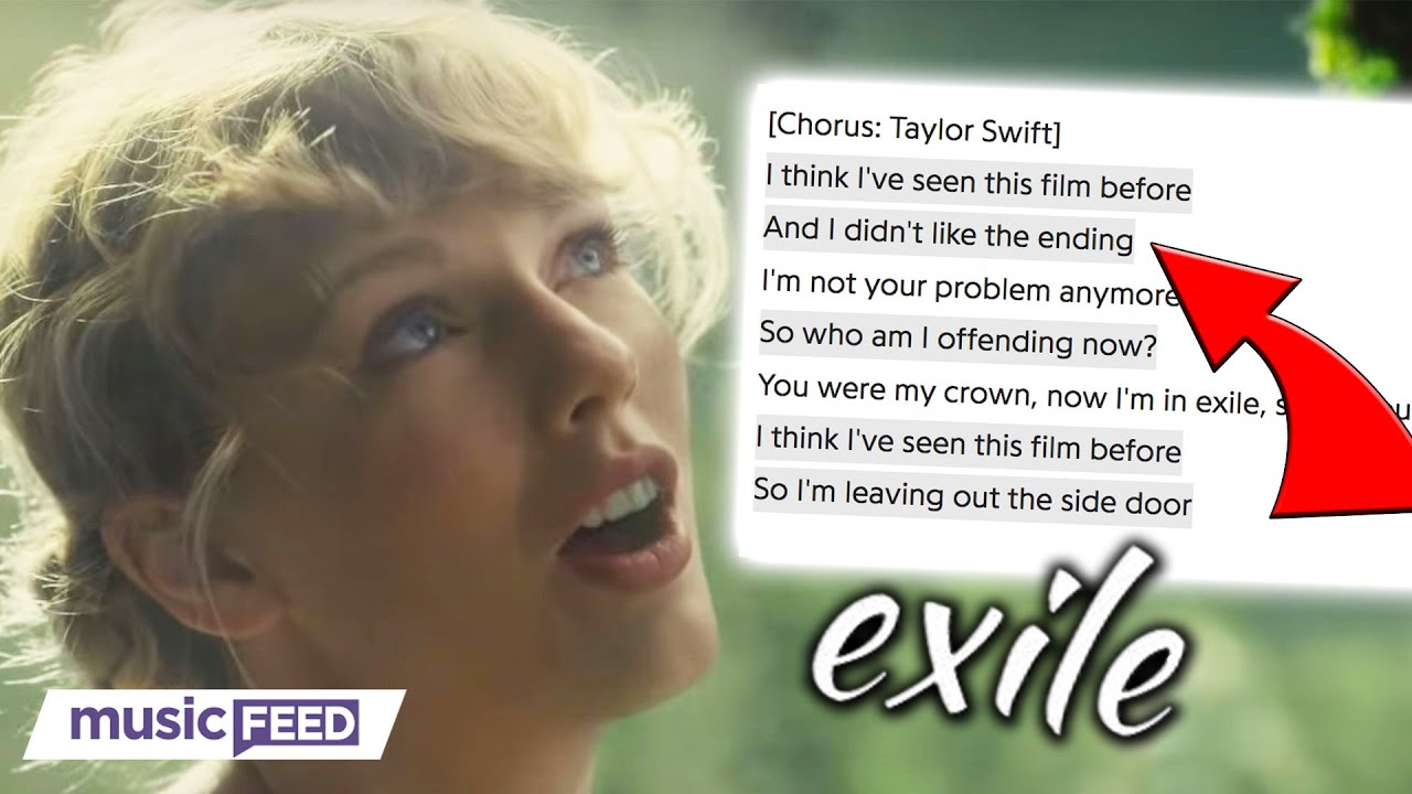 Taylor Swift S New Song Exile Decoded Youtube