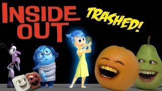 Annoying Orange - INSIDE OUT TRAILER Trashed!!