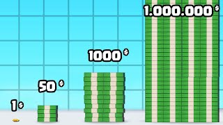 COLLECTING a 1,000,000 MILLION DOLLARS in Run Rich 3D