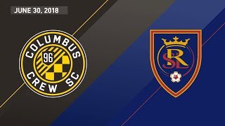 HIGHLIGHTS: Columbus Crew SC vs. Real Salt Lake | June 30, 2018