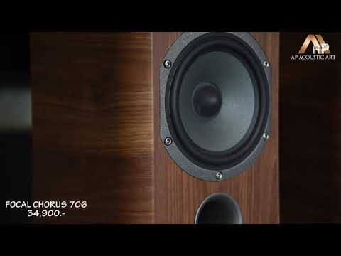 Review!! (Focal New Chorus 706 & Rotel A14) By AP Acoustic Art