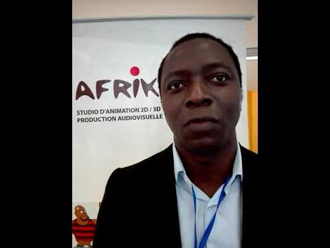 Festival du Film d'animation d'Abidjan :Mr Kouamé N. Abel commissaire général parle…
