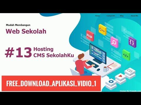membuat-website-sekolah-gratis,-mudah,-mudah-tanpa-html,-css-dan-php-13/20-#13-hosting-online