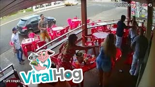 Wife Finds Cheating Husband With Lover and Goes Wild || ViralHog