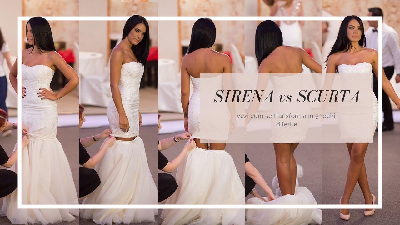 Rochia de mireasa 5 in 1 - Unica rochie de mireasa completa