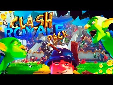 El MEJOR PACK CLASH ROYALE Para Android Y PC| BEST Clash Royale PACK 2017 | SrMena