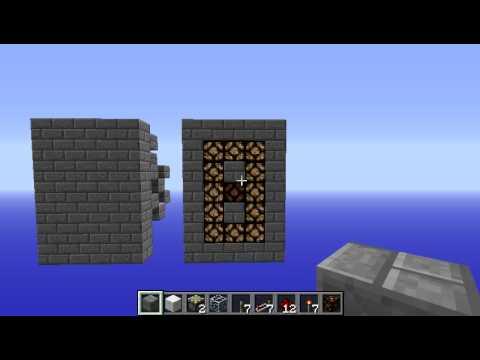 Minecraft Compact 7 Segment Displays Youtube