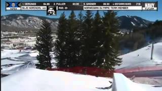 Silje Norendal Wins Gold Women's Snowboard Slopestyle final at X Games Aspen 2014
