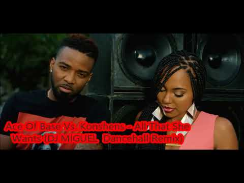 Ace Of Base Vs  Konshens   All That She Wants DJ MIGUEL  Dancehall Remix